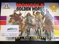 Italeri Mongols Golden Hords w